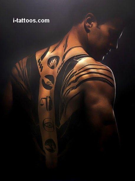 tatuaże na plecach 45