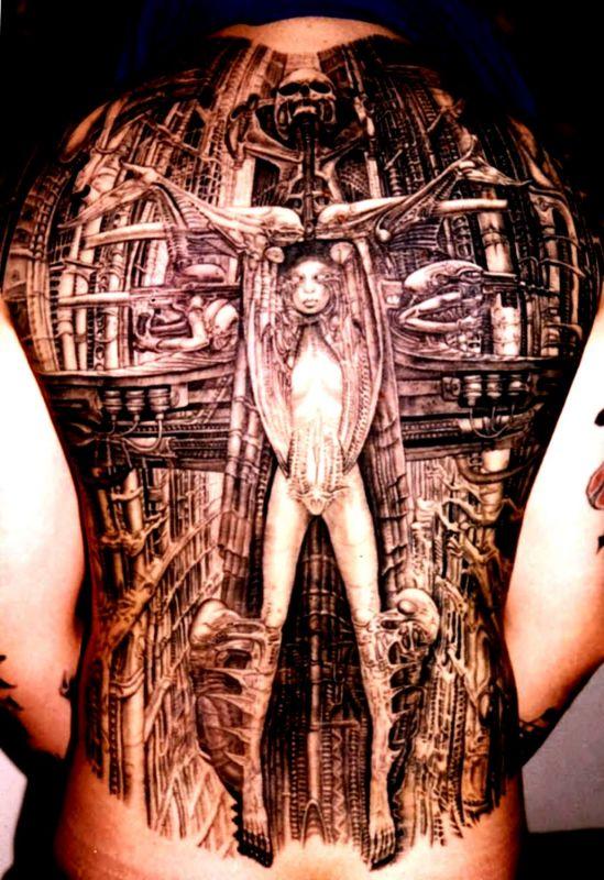 tatuaże w trójwymiarze