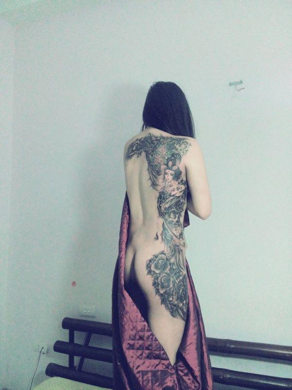 tatuaże na całym ciele 22177