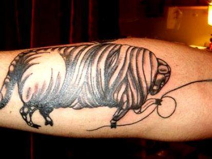 byki tatuaże 26254
