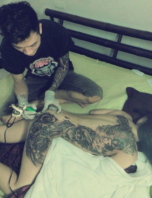 tatuaże na całym ciele 85491
