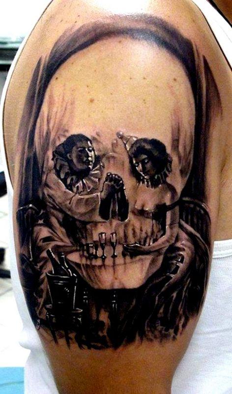 tatuaże czaszki 57593