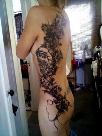 tatuaże czaszki 84363