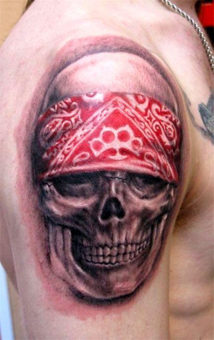 tatuaże czaszki 6245