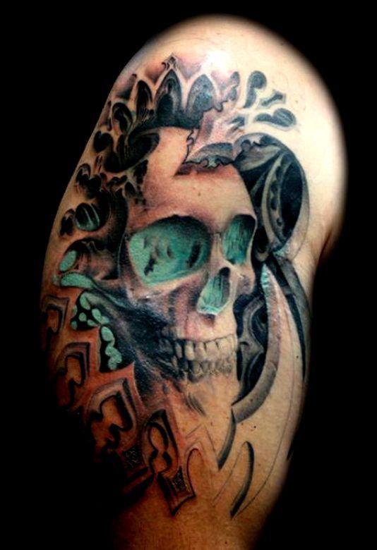 tatuaże czaszki 44618