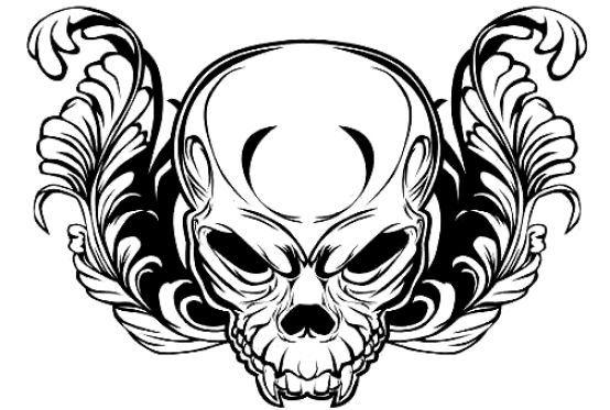 tatuaże czaszki 67226
