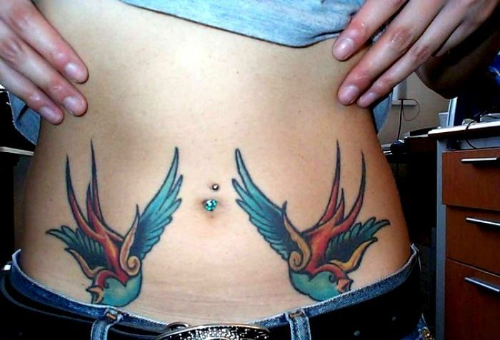 tatuaże jaskółki 54211