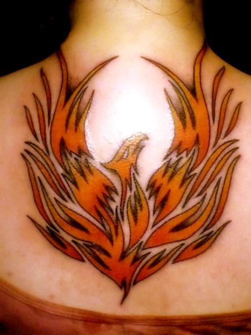 tatuaże feniks 62703