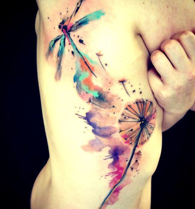 tatuaże ważki 88638