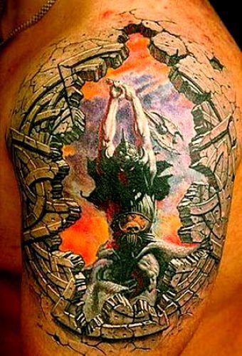 tatuaże 3d 47263