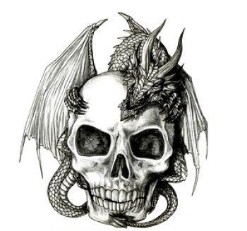 tatuaże czaszki 1573