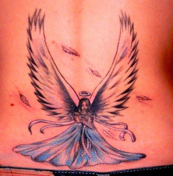 tatuaże anioły 38731