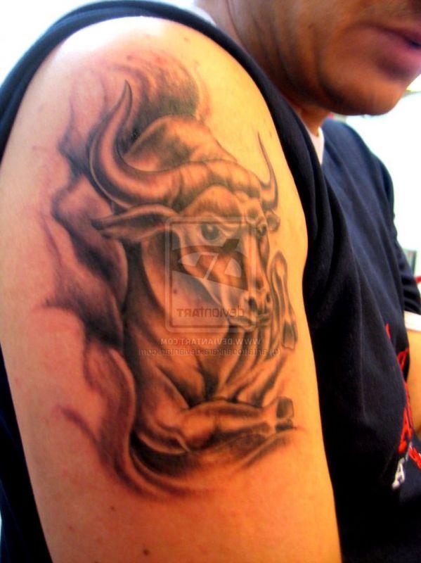 tatuaże byk 81208