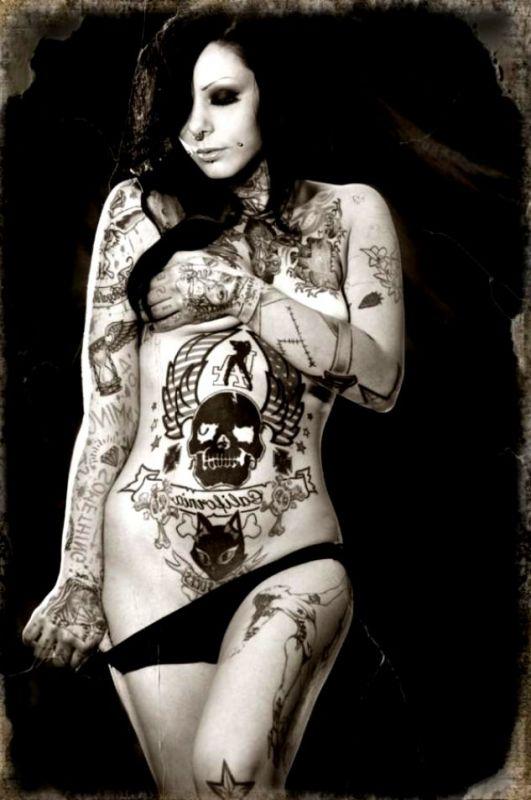 tatuaże czaszki 45380