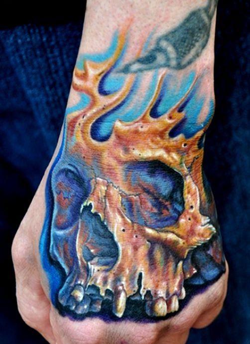 tatuaże czaszki 84559