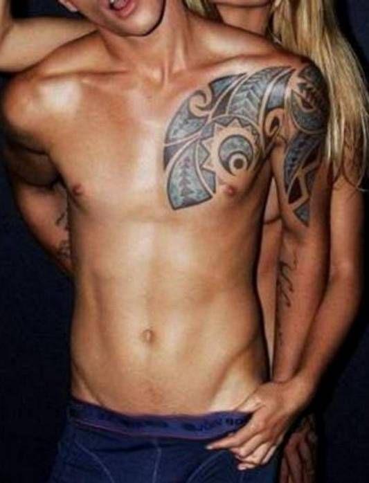 polinezyjski wzór tatuażu