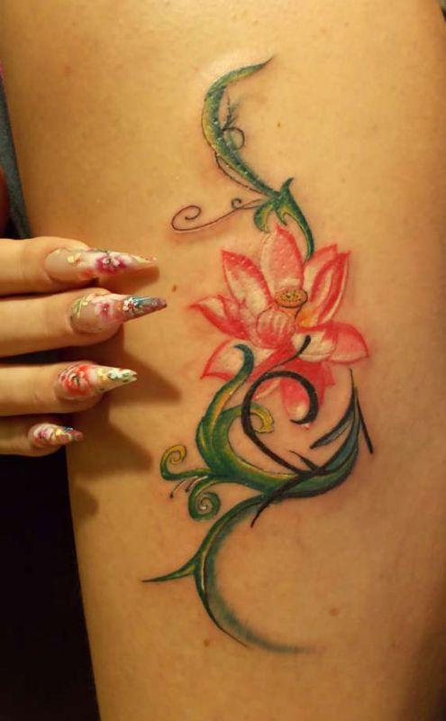 kwiatuszek tatuaż