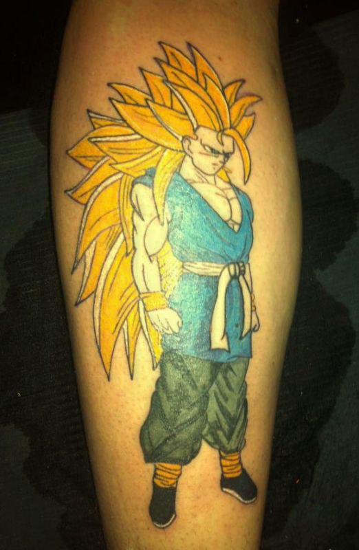 tatuaże z kreskówek