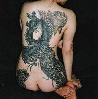 feniks tatuaż 45