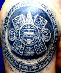 tatuaże azteckie