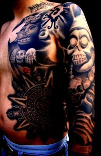 tatuaże azteckie 95013