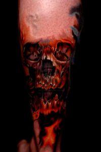 tatuaże czaszki 66194