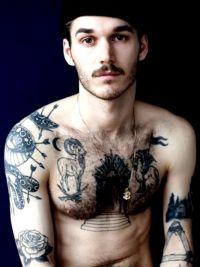 tatuaże męskie 501