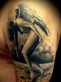 tatuaże anioły 26464