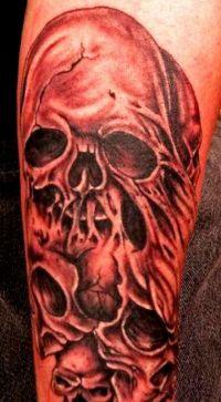 tatuaże czaszki 51580