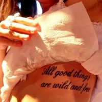 tatuaże napisy 22323