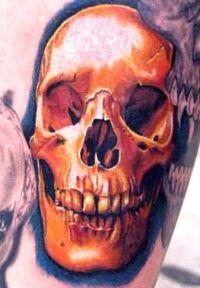 tatuaże czaszki 77225