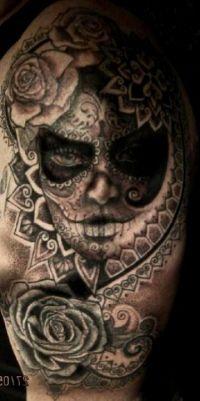 tatuaże czaszki 16060