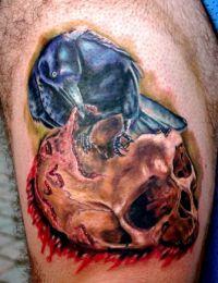 tatuaże czaszki 10345