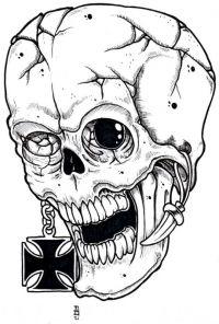 tatuaże czaszki 14432