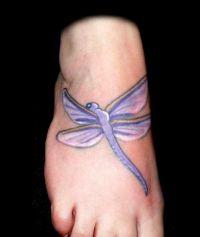 tatuaż ważka 33494