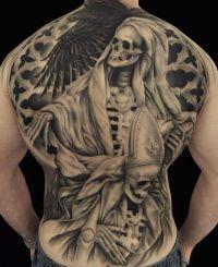 szkielety tatuaże
