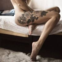 tatuaże kwiaty roże