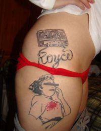 brzydkie i śmieszne tatuaże