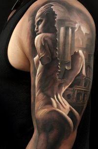 posąg kobiety bez rąk