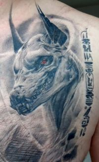 tatuaż z Egiptu