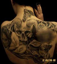 czaszka diabła