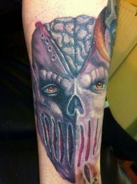 demoniczny tatuaż