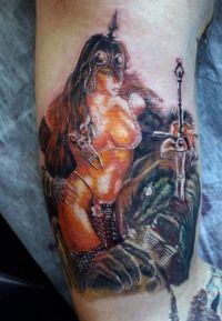 fantasy tattoo