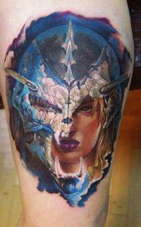 fantasy tattoos