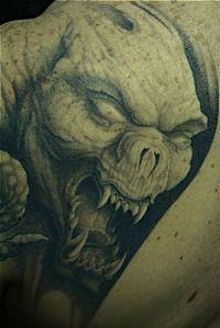 głowa demona