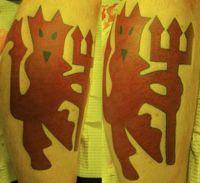 tatuaże manchester united