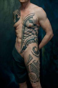 tatuaże na całym ciele
