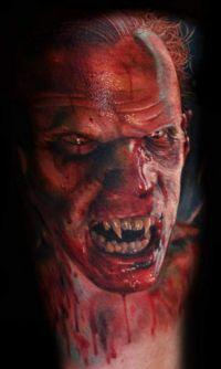 wampir tatuaż