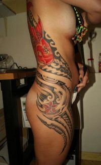 polinezyjskie wzory tatuaży