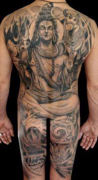 budda tatuaże na plecach